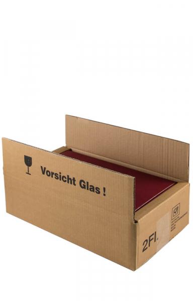 Versandkarton Weingeschenk 2er