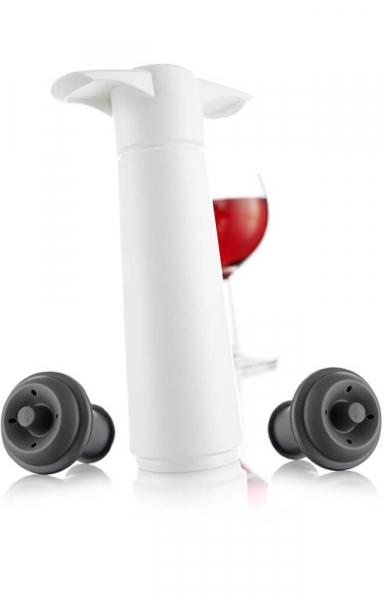 Vacu Vin Wine Saver Geschenkset White