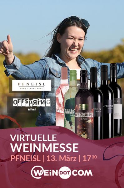 Pfneisl Messepaket - Online Weinprobe & Ticket