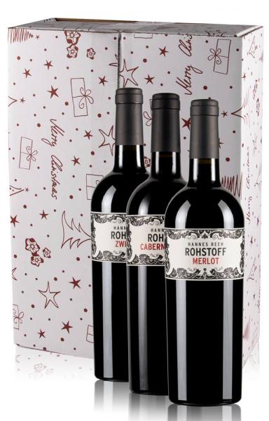 Weinversandkarton Weihnachten 3er